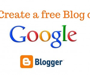 Create a free Blog on Google (1)