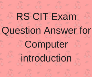 rs-cit-exam-question-answer-for-computer-introduction